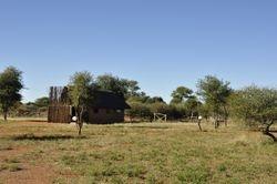 Individual lodging at Rhinosterpan camp