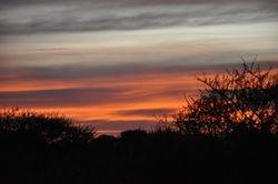 Sunset in Limpopo province near Thabazimbi