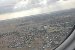 Leaving Kimberley for Joburg on the way home.
