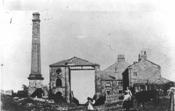 Brusselton Engine house and Shed 1900