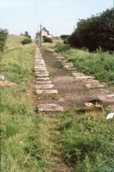 Brusselton Incline looking towards Engine House 1975
