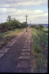 Brusselton Incline looking south 1975
