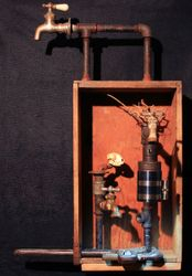 Box Skull-pture Box Lamp
