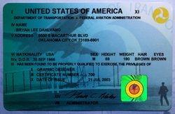 Airmen Certificate