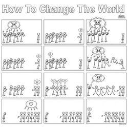 kako promeniti svet