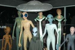 razne vrste vanzemaljaca