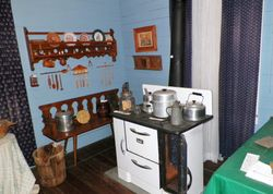 Kitchen in the museum