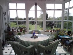 The conservatory in Summer