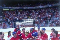 CARLO BOSSIO 1995-96 CHAMPION MONTR�AL CANADIENS
