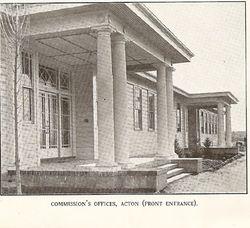 c1926 FCC Offices, Acton