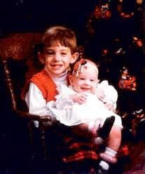 JonBenet & Burke Baby Shoot
