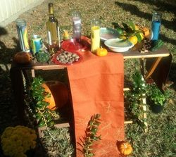"All Saints Day ""Remembrance Altar"""