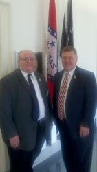Joe Crawford with Rep. Rick Crawford (AR)