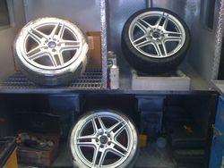Wheel repair & Refnishing