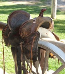 Refurbished Antigue Saddle