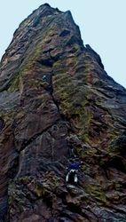 Rock Climbers Pano, El Dorado SP, Colorado