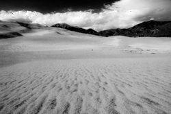 Great Sand Dunes Monochrome 01