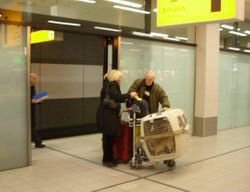 Arriving in Holland