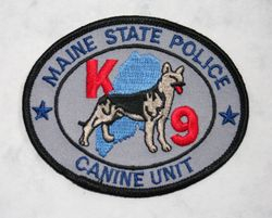 maine State Police K9