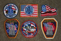 NY Tribute Patches