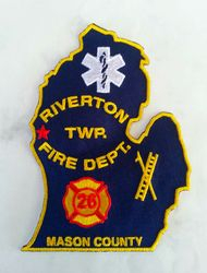 Riverton Twp. Fire, Mason Co, Mich.