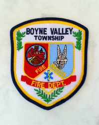 Boyne Valley Fire, Charlevoix County Mich