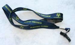 U of M Survival Flight Lanyard