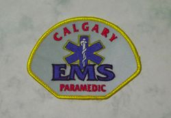 Calgary EMS (reflective)