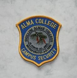 Alma College Campus Police Mi.