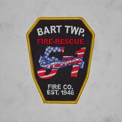 Bart Twp, Lancaster Co, Pa. Fire Rescue 5-1
