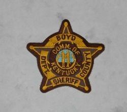 Boyd Kentucky Sheriff