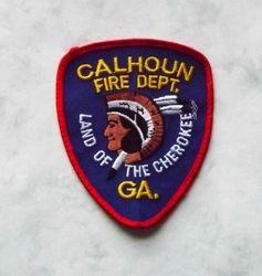 Calhoun Ga. Fire Dept.