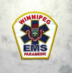 Winnipeg EMS Paramedic, Canada