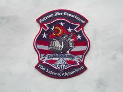 Salerno Fire Dept, FOB Salerno, Afghanistan