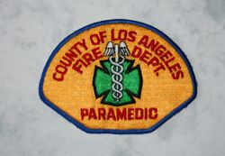 Los Angeles Fire Dept Paramedic