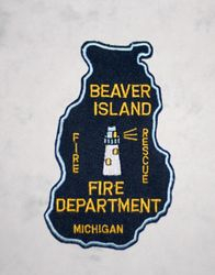 Beaver Island Michigan Fire