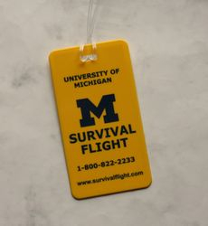 Survival Flight Luggage tag