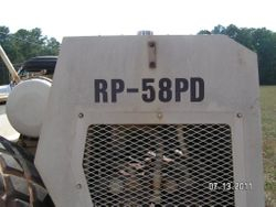 1984 Tampo RP58PD pad / sheep foot Compactador-