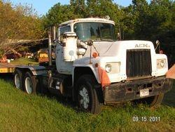 1986 MACK road tractor - $8,500.