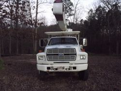1988 Ford F800 52ft Altec Boom Bucket Truck  $9,950.