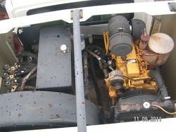 2003 International 4200 Schwarze A7000 Sweeper Truck