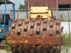 Bomag BW172PD pad foot compactor -$14,500.