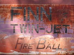 Finn twin jet fire ball burn machine