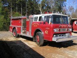 1981 Ford 8000 Camion de Bomberos