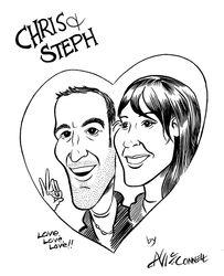 Chris and Steph