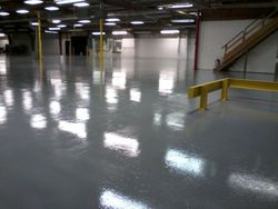 Epoxy floor job - Bucyrus, Ohio