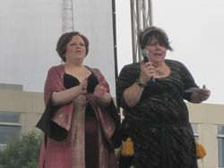 Fateema and Isaura