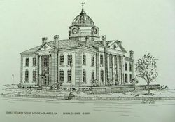 Early Co. Court House