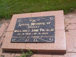 PALMER Margaret Jane