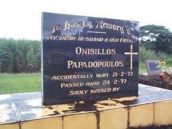 PAPADOPOULOS Onisillos